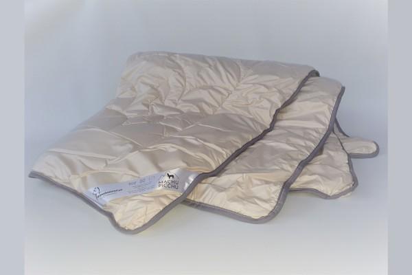 Alpaka Bettdecke mit 600 g Füllgewicht